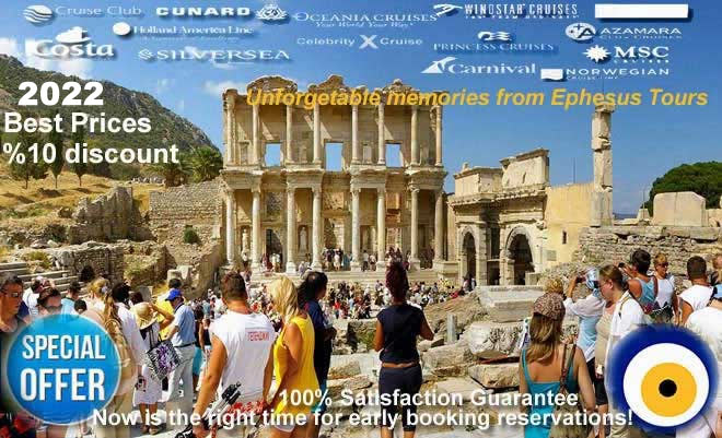 Ephesus Half Day Tour in groups or private from Kusadasi or Izmir